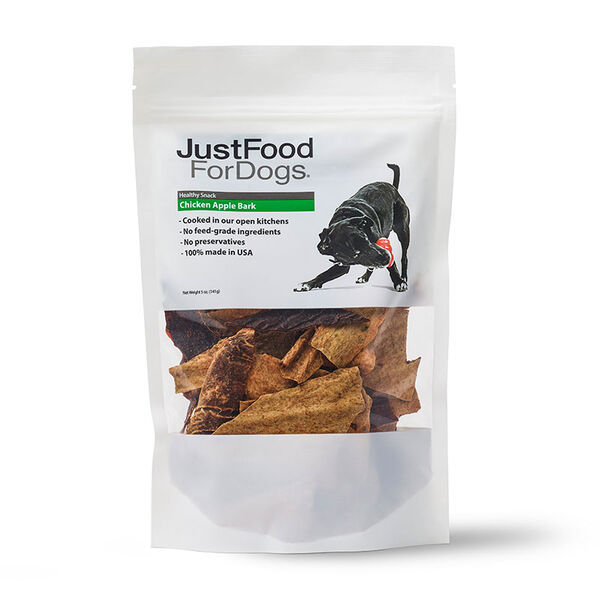 Chicken Apple Bark Treats for Dogs - Just Food For Dogs