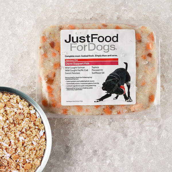 Derm Support Fish - Just Food For Dogs