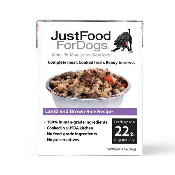 PantryFresh Lamb & Brown Rice - Just Food For Dogs