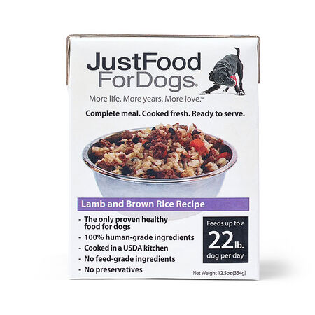PantryFresh Lamb & Brown Rice - Just Food For Dogs