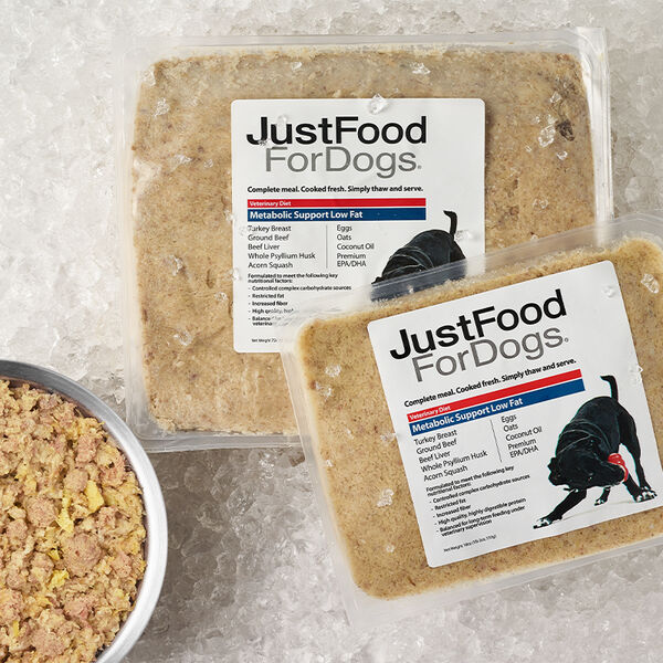 Metabolic Support Low Fat - Just Food For Dogs