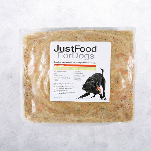 Hepatic Support Low Fat - Just Food For Dogs