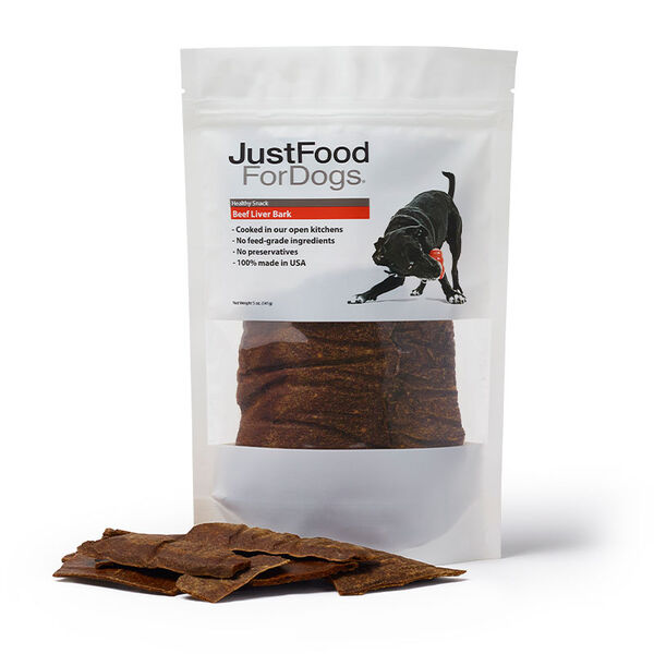 Beef Liver Bark Treats for Dogs - Just Food For Dogs
