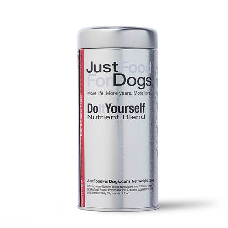 Do It Yourself Nutrient Blend - Beef - Just Food For Dogs