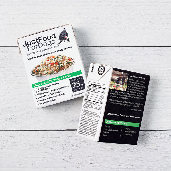 PantryFresh Chicken & White Rice - Just Food For Dogs