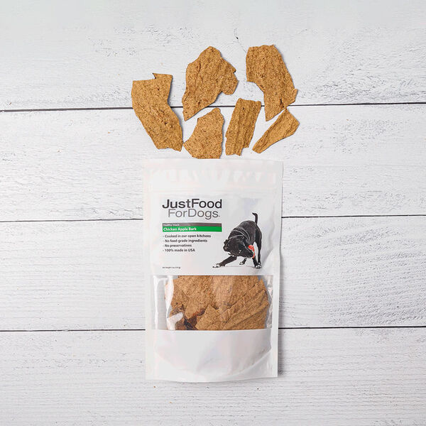 Chicken Apple Bark Treats for Dogs image number null