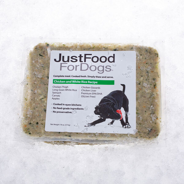 Chicken & White Rice - Just Food For Dogs