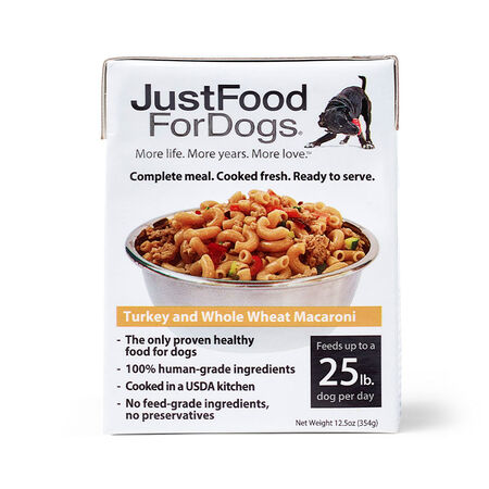 PantryFresh Turkey & Whole Wheat Macaroni - Just Food For Dogs