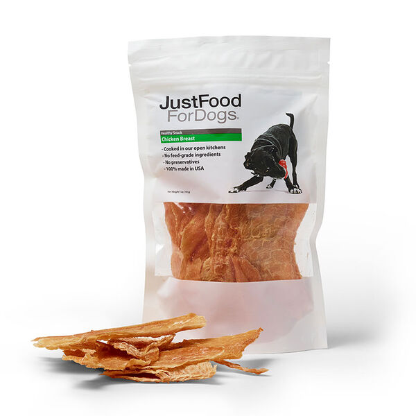 Chicken Breast Treats for Dogs - Just Food For Dogs
