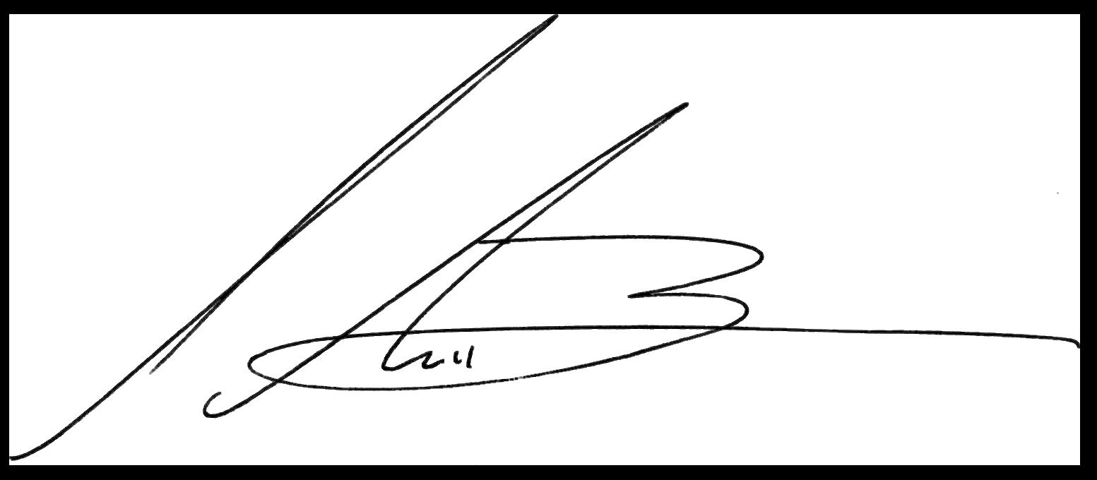 sean buckley signature